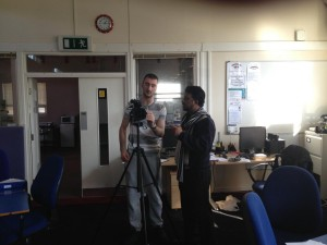 Work Placement - Filming Training